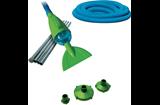 Kit pulitore fondo ad aspirazione materiale di pulizia for Liner piscine transparent