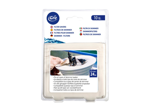 40045 10 filtros de skimmer skimmer e pe as for Liner piscine transparent