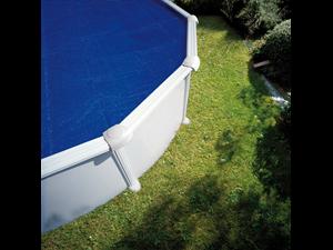 Cprov700 couvertures isothermes piscine paroi acier for Liner piscine transparent