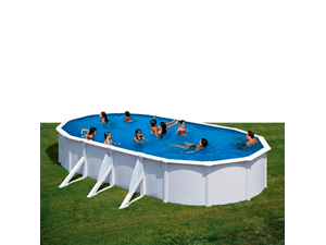 Serie fidji ovais 730 x 375 x 120 cm kit730eco for Liner piscine transparent