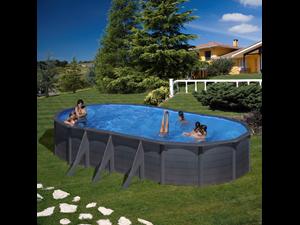Serie kea piscinas de a o com aspecto de gelosia for Liner piscine transparent