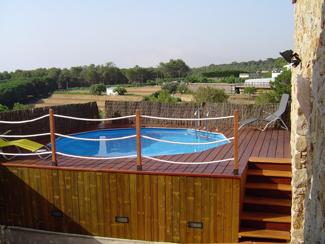 Piscinas en concurso concurso gre piscinas pool - Piscinas de madera semienterradas ...